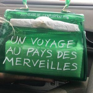 Green mini un voyage bag